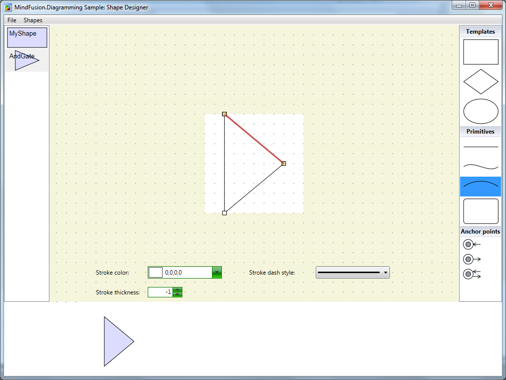 Wpf mindfusion company blog diagramming wpf circuit shapes 5 baditri Gallery