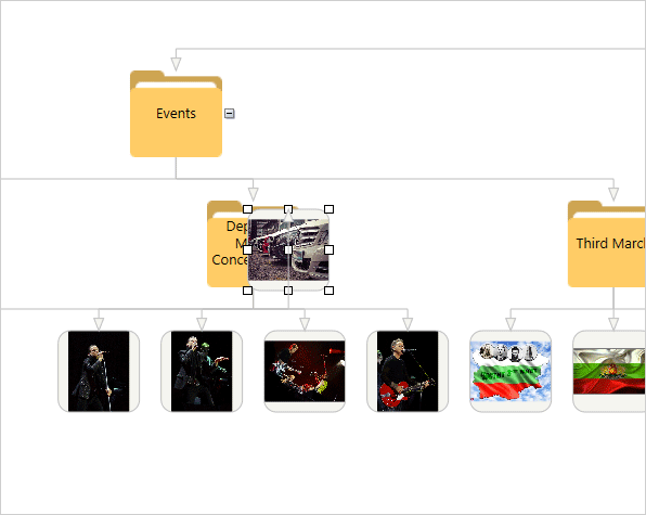 Photo Album App with the WPF Diagram: User Interaction