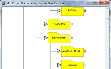 Wpf Diagram Control: Directory Tree