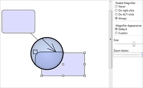 Wpf diagram control samples wpf samples magnifier ccuart Images
