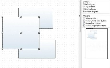 Wpf Diagram Control: Tabbed View