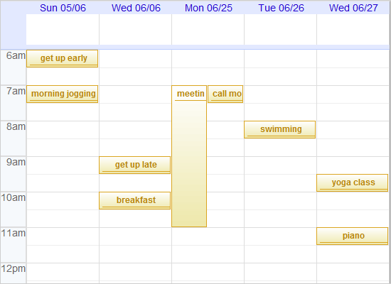 Google Calendar in Java Swing