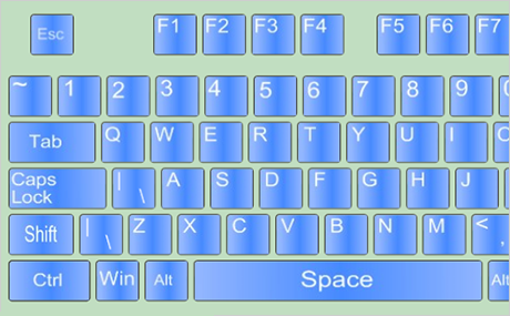 WPF Virtual Keyboard Control: Images