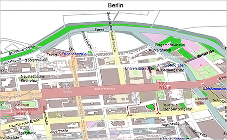 WinForms Map Control: StreetViewMap