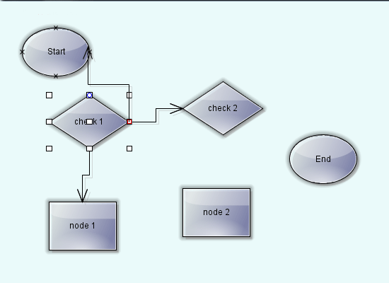 Diagramming for Java: Anchor Points