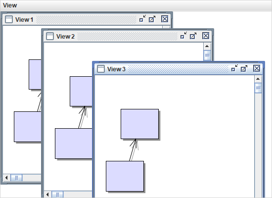 Multiple Views of the Same Diagram in Java Swing