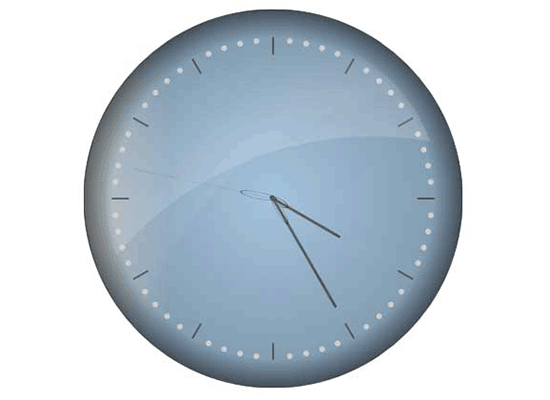 JavaScript Chart Control: Clock Gauge
