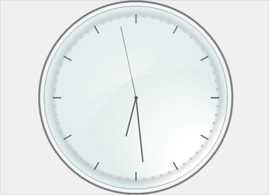 Clock Gauge in WinForms