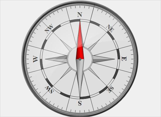 Compass Gauge in WinForms