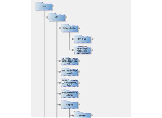 Diagramming for Winforms: Directory Tree