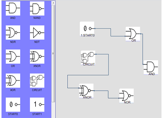 .NET Flowchart Tool: Logic Gates