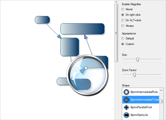 Diagramming for Winforms: Magnifier