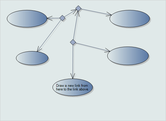 Diagramming for Winforms: Ternary Connections