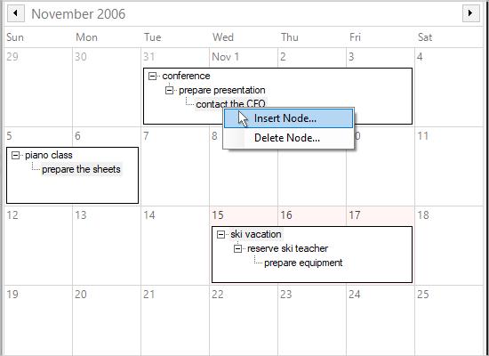 WinForms Scheduler: Item Viewers