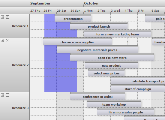 Multiple Resource Selectio in the WinForms Scheduling Control