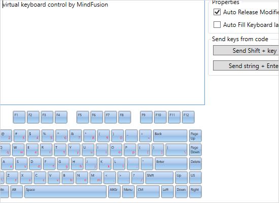 Common API in the WPF Virtual Keyboard
