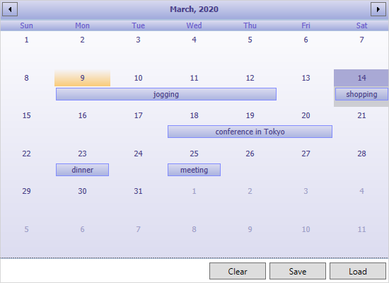 Saving a WP Schedule in ICalendar Format