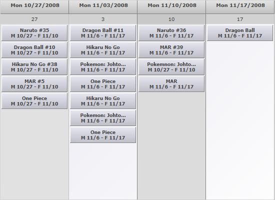 List View in WPF Scheduler