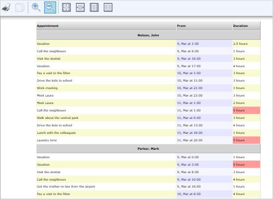 Schedule Reports in WPF
