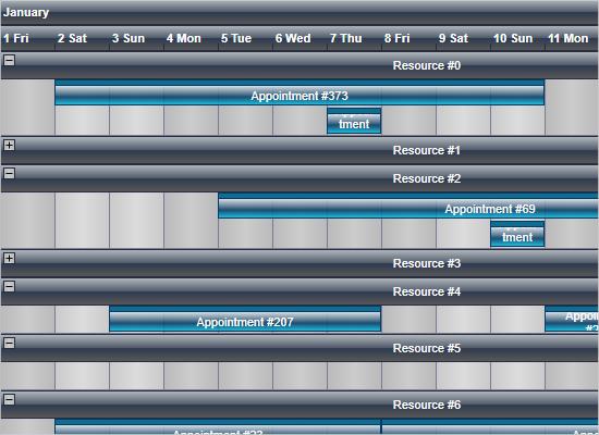 Stress Test with WPF Calendar